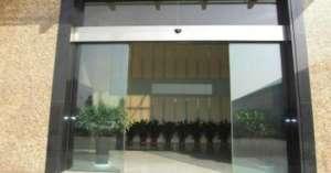 新塘安装电动玻璃门,新塘安装自动门义乌